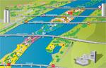 Donauinselfest 2011 Plan