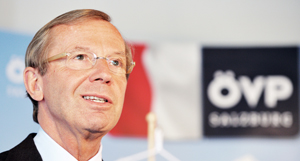 Landeshauptmann Salzburg - Wilfried Haslauer