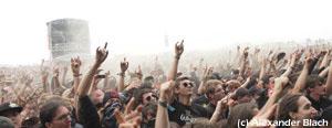 Stimmung beim Festival